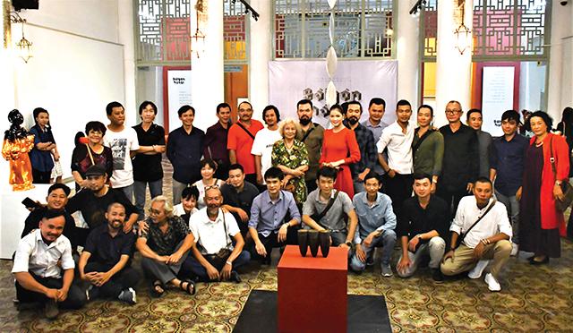 Điêu khắc Biennale Sài Gòn - Hà Nội 2018