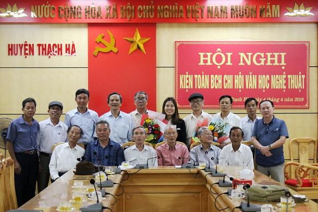 Hội nghị kiện toàn BCH Chi hội VHNT huyện Thạch Hà