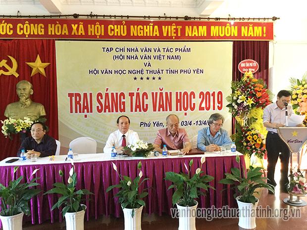 Trại sáng tác văn học 2019 tại Phú Yên