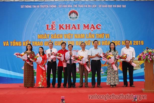 Khai mạc Ngày sách Việt Nam lần thứ 6 tại Hà Tĩnh năm 2019