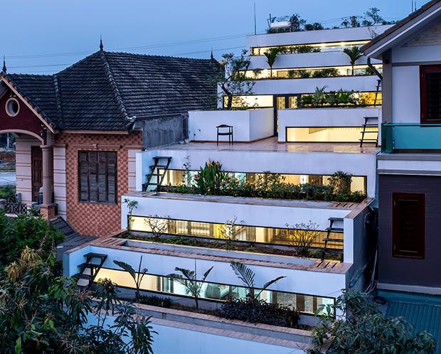 Kiến trúc Việt Nam - Những bước chân ra với thế giới