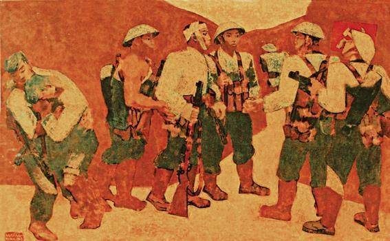Chiến thắng Điện Biên Phủ, nguồn cảm hứng của hội họa Việt Nam
