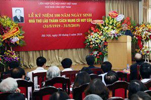 Kỷ niệm 100 năm Ngày sinh nhà thơ lão thành cách mạng Huy Cận