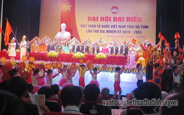 Đại hội đại biểu MTTQ Việt Nam tỉnh Hà Tĩnh lần thứ XIV