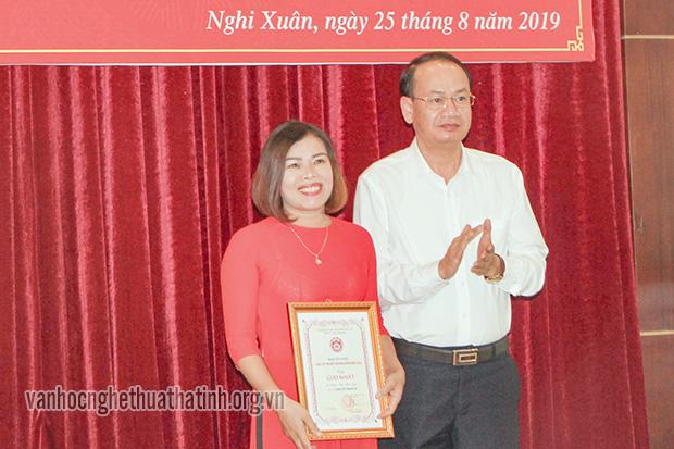 41 tập thể, cá nhân đạt giải Cuộc thi Tìm hiểu 550 năm thành lập huyện Nghi Xuân