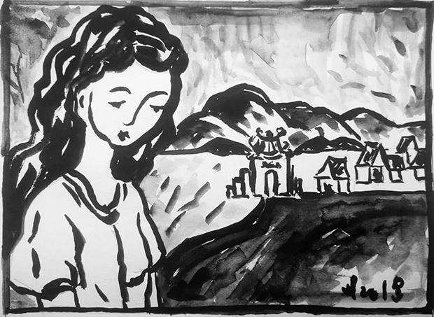 Làng bên tê núi - Tạp chí Hồng Lĩnh