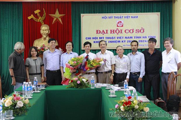 Đại hội Chi hội Mỹ thuật Việt Nam tỉnh Hà Tĩnh khoá IX ( nhiệm kỳ 2019 - 2024)