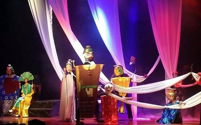 Nàng Kiều trên sân khấu múa rối thử nghiệm