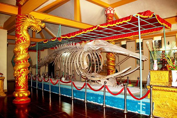 Tín ngưỡng thờ Cá Ông ( Cá Voi) của cư dân vùng biển