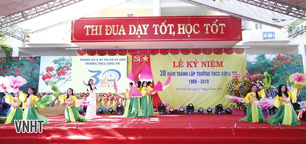 Lễ kỷ niệm 30 năm thành lập trường THCS Sông Trí