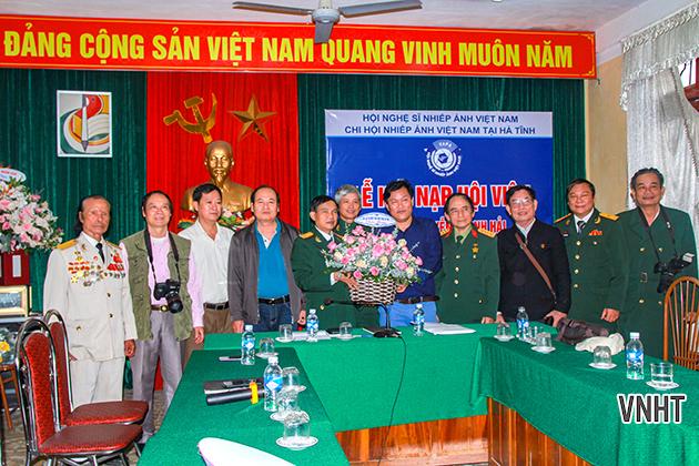 Hà Tĩnh có thêm 01 hội viên kết nạp Hội Nghệ sĩ nhiếp ảnh Việt Nam