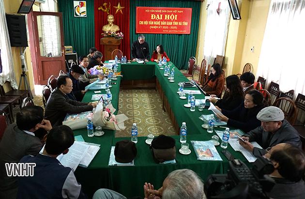 Đại hội chi hội Văn nghệ dân gian Hà Tĩnh
