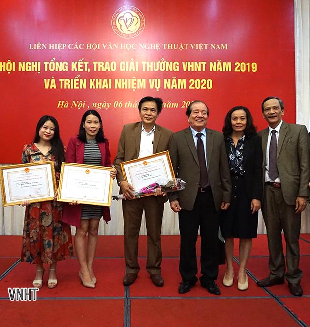 Hà Tĩnh đạt nhiều Giải thưởng của Liên hiệp các Hội VHNT Việt Nam