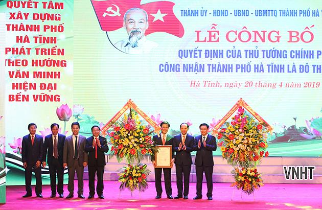 Xây dựng thành phố Hà Tĩnh tương xứng với vai trò trung tâm tỉnh lỵ