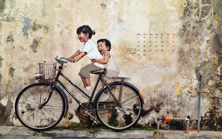Xe đạp ơi...