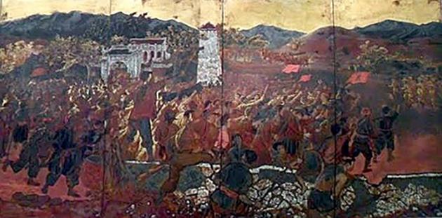 Những tác phẩm sơn mài của họa sĩ Nguyễn Văn Tỵ
