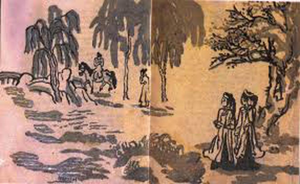 VẺ ĐẸP NGÔN TỪ TRONG NHỮNG CÂU THƠ DIỄN TẢ CẢM XÚC KIM – KIỀU SAU KHI CHIA TAY