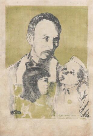 Họa sĩ Nguyễn Sỹ Ngọc hội họa với cách mạng