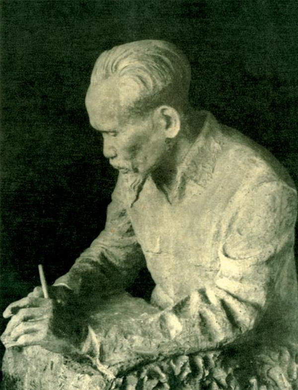Bác Hồ trong tác phẩm của Nhà điêu khắc Nguyễn Thị Kim