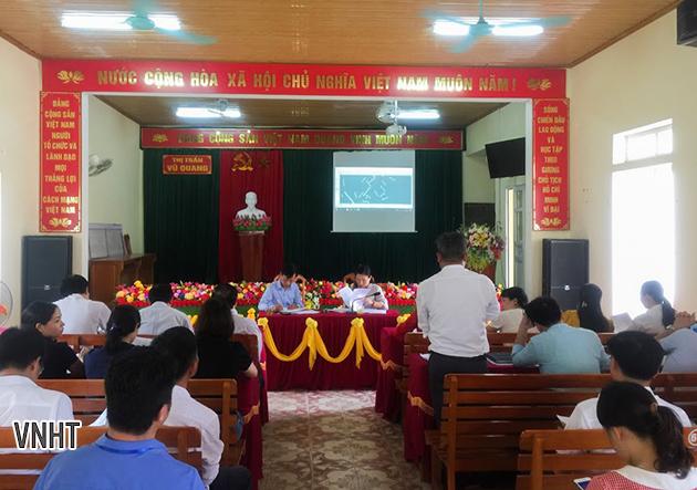 Khảo sát thực địa, tư vấn đặt tên đường tại Thị trấn Phố Châu và Thị trấn Vũ Quang