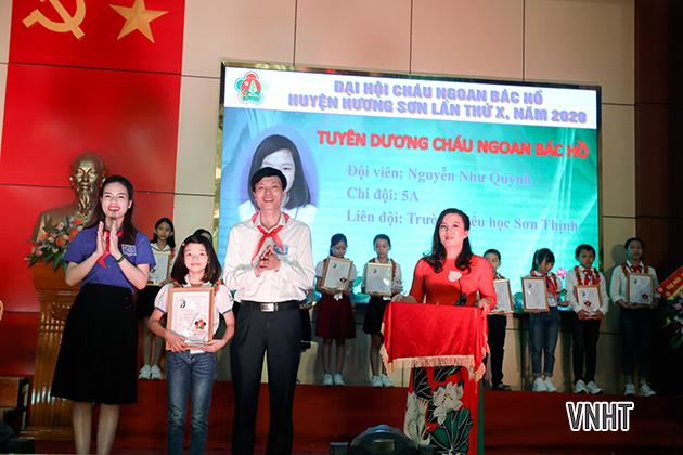 Đại hội cháu ngoan Bác Hồ huyện Hương Sơn lần thứ X năm 2020