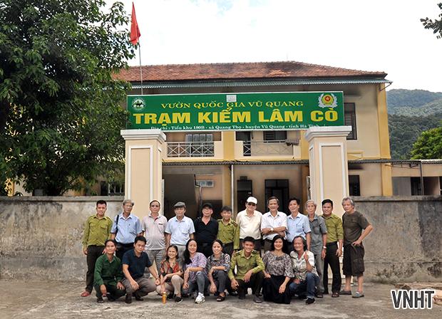 Chi hội nhà văn Việt Nam tại Hà Tĩnh đi thực tế tại huyện miền núi Vũ Quang