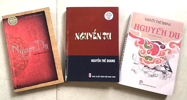 Nhà văn Nguyễn Thế Quang với tiểu thuyết Nguyễn Du