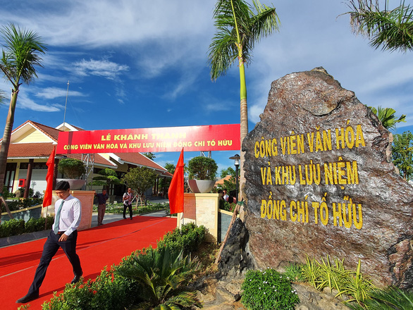 Khánh thành công viên văn hóa và khu lưu niệm nhà thơ Tố Hữu