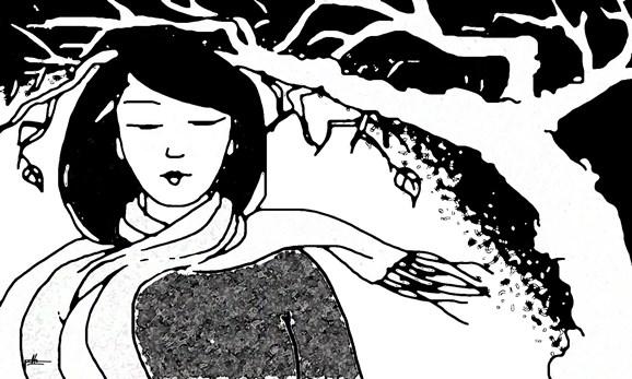 Tản văn Gió lạnh đầu đông của tác giả Linh Châu