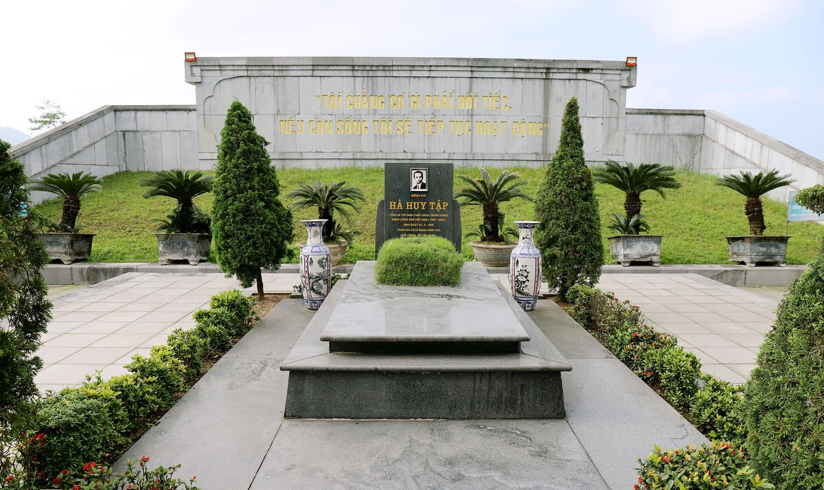 Tháng 4 thăm quê cố Tổng Bí thư Hà Huy Tập