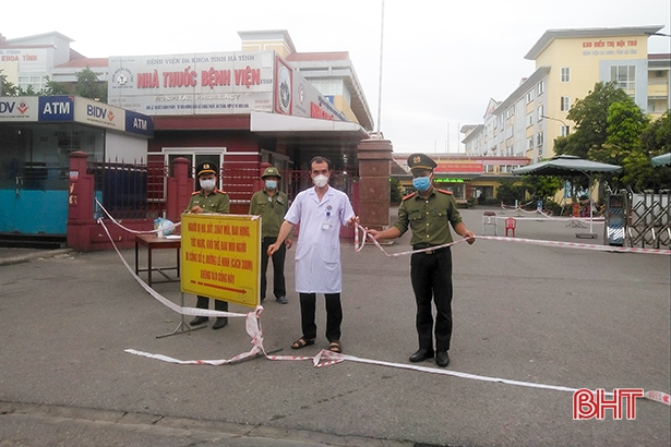Bệnh viện Đa khoa Hà Tĩnh hoạt động trở lại từ 6h sáng nay