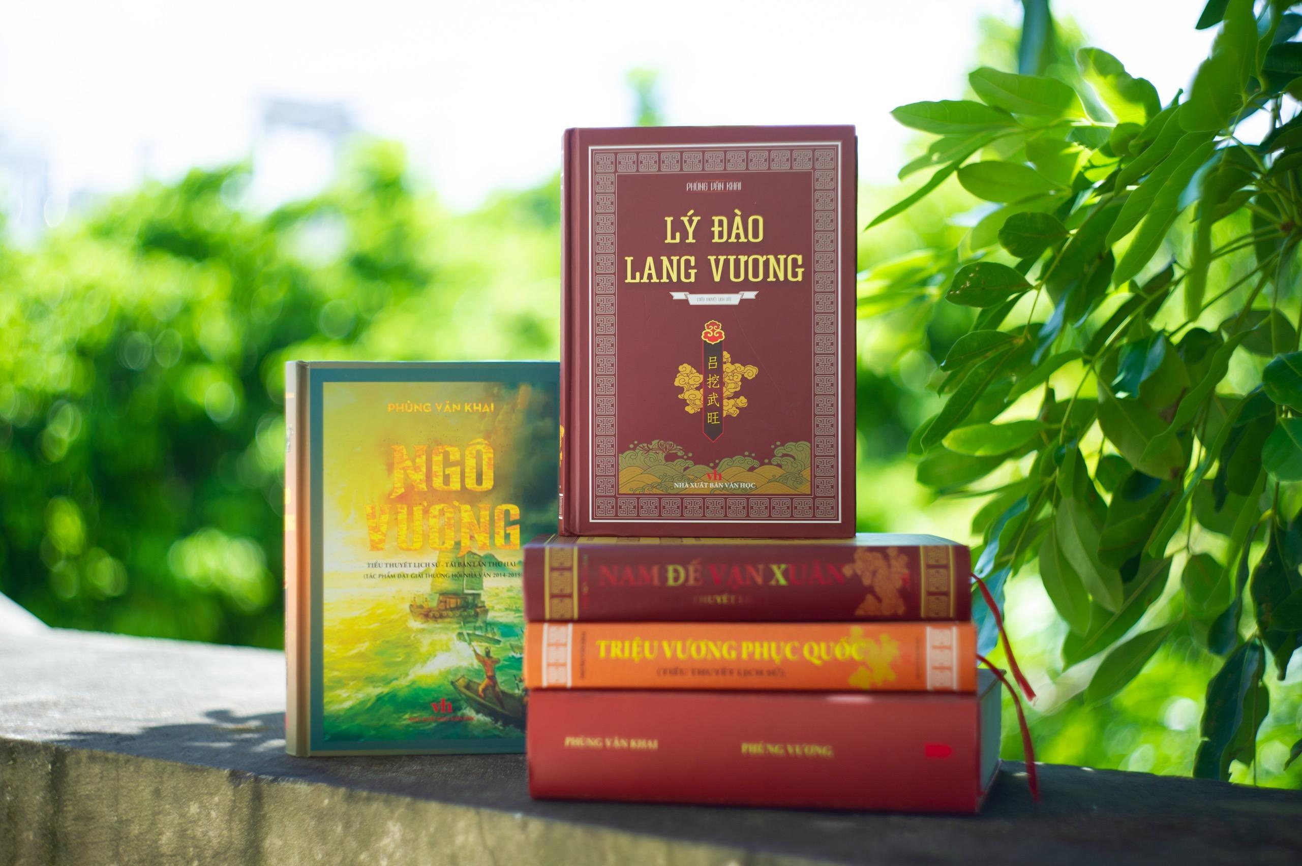 Tiểu thuyết LÝ ĐÀO LANG VƯƠNG của Nhà văn Phùng Văn Khai