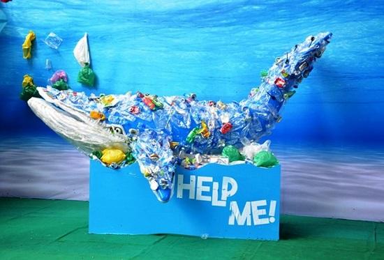 Kết quả hình ảnh cho rác thải nhựa