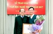 Hà Tĩnh có 02 tác giả được trao giải thưởng Văn học nghệ thuật năm 2017