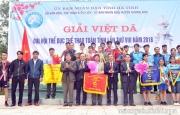 Khai mạc giải việt dã toàn tỉnh lần thứ VIII tại Hương Sơn.