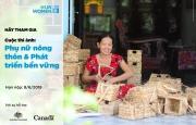 Phát động Cuộc thi ảnh về Phụ nữ nông thôn và Phát triển bền vững