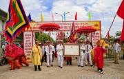 """Lễ đón Bằng chứng nhận Di sản văn hóa phi vật thể quốc gia """"Lễ hội đền Chiêu Trưng"""""""