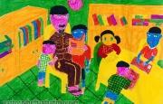Chùm tranh của em Nguyễn Trung Kiên và Nguyễn Thị Phương Nhung