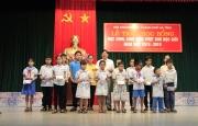Lễ trao học bổng cho học sinh, sinh viên vượt khó học giỏi năm học 2018 – 2019