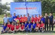 Hấp dẫn trận chung kết giải bóng đá nữ  2018