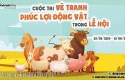 Cuộc Thi Vẽ Tranh, Thiết Kế Tranh Về Việc Sử Dụng Động Vật Trong Lễ Hội 2019 Tổ Chức Bởi Tổ Chức Động Vật Châu Á