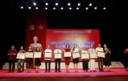 Lễ trao tặng bằng Nghệ nhân dân gian tại Hà Tĩnh