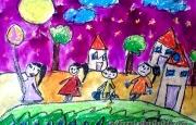 Tết Trung thu trong mắt các họa sĩ nhí - Cuộc thi Viết vẽ tuổi học trò lần thứ XIII