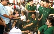 Hương Sơn tổ chức hiến máu tình nguyện