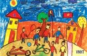 Tác phẩm tham dự cuộc thi Viết - Vẽ tuổi học trò lần thứ XIII