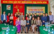 Trang thông tin điện tử Văn nghệ Hà Tĩnh gặp mặt cộng tác viên tiêu biểu