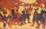 Kết nạp Đảng ở Điện Biên Phủ - Bức tranh thấm đẫm chất anh hùng ca