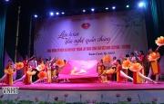 Hương Khê tổ chức Liên hoan Văn nghệ chào mừng kỷ niệm 90 năm thành lập Đảng Cộng sản Việt Nam