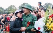 Xúc động lễ giao, nhận quân tại Hương Khê