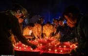 Lễ thắp nến tri ân tại Nghĩa trang Liệt sỹ huyện Hương Khê